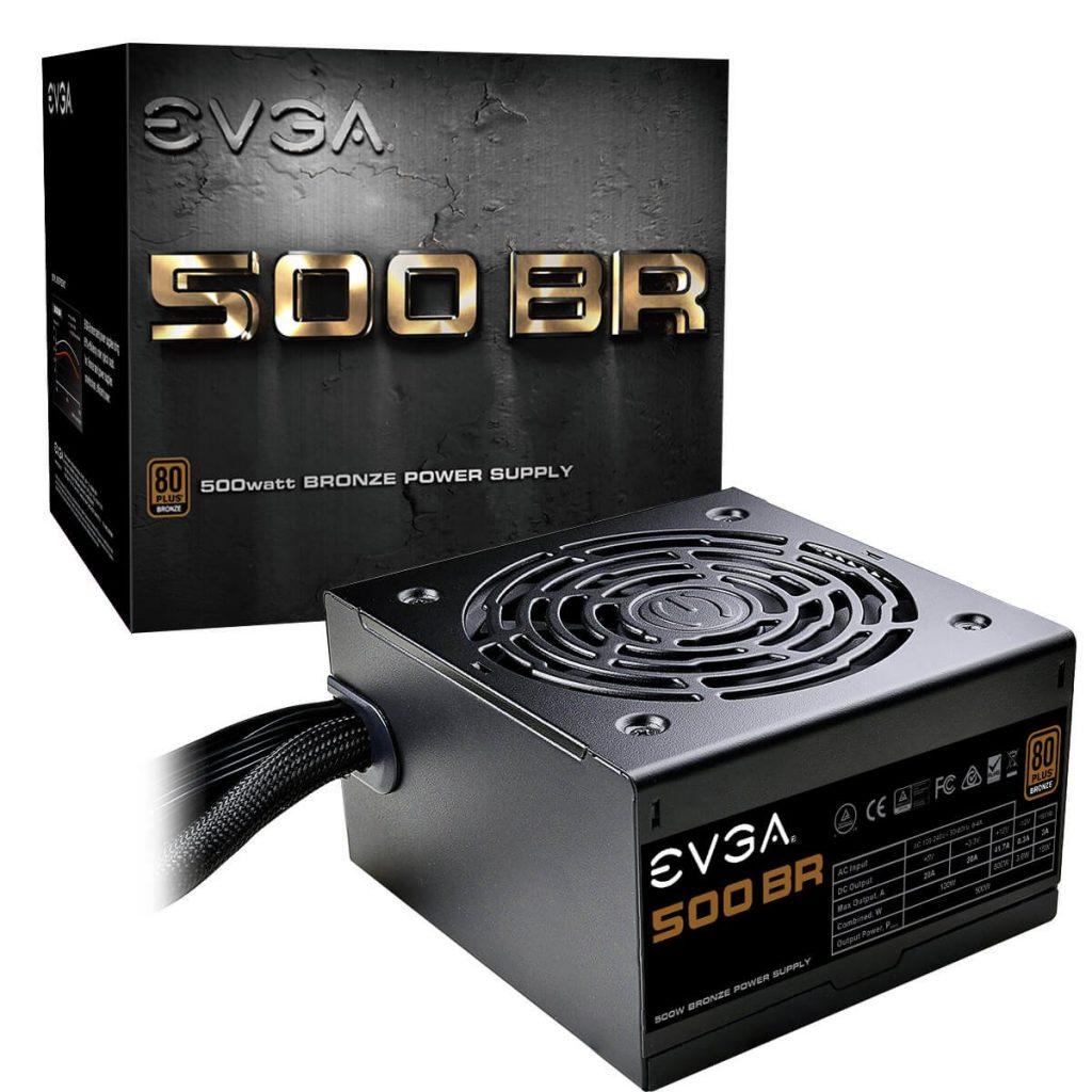 EVGA 500 BR 500W PSU